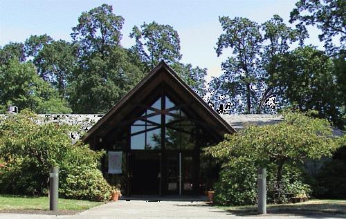 교회 정문